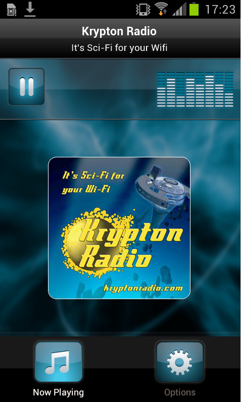 Krypton Radio Pushes Out
